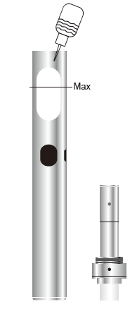 Инструкция для электронной сигареты Eleaf iCare 140.Заправка бака жидкостью: