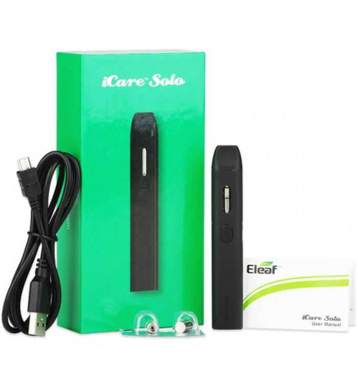 Инструкция для электронной сигареты Eleaf iCare Solo