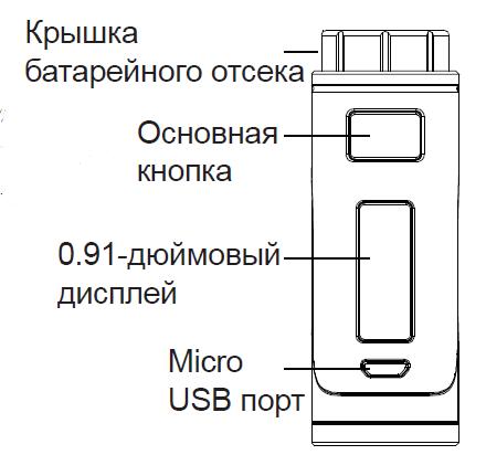 Инструкция для бокс-мода Eleaf iStick Pico 25