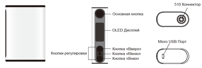 Инструкция для бокс-мода Eleaf iStick Power Nano.Управление