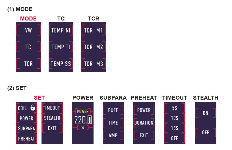 Инструкция для бокс-мода Eleaf Saurobox.Обновление встроенного ПО