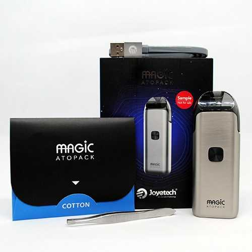 Инструкция для pod-системы Joyetech Atopack Magic