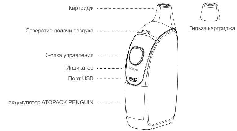 Инструкция для бокс-мода Joyetech Atopack Penguin