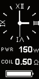 Инструкция для бокс-мода Joyetech eVic VTC Dual.7. Установка таймера скринсейвера