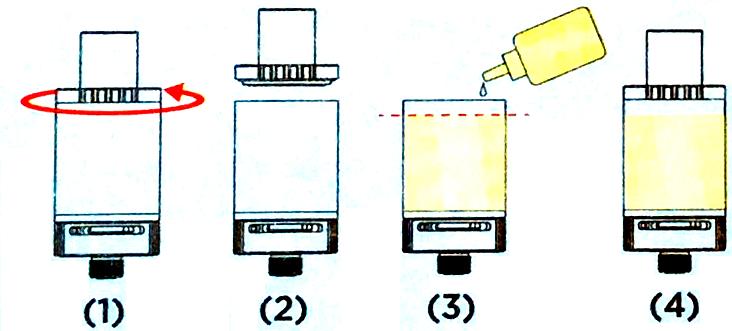 Инструкция для бокс-мода Kanger Subox Mini-C.Заправка жидкостью