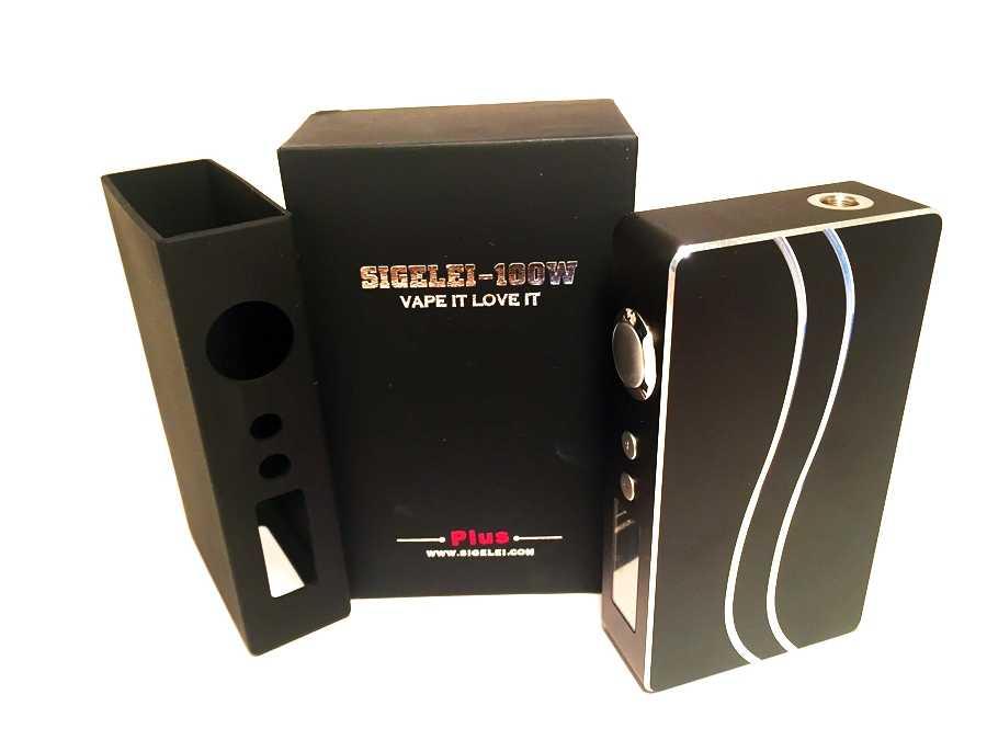 Инструкция для бокс-мода Sigelei 100W Plus