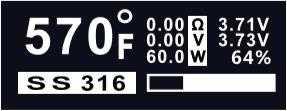 Инструкция для бокс-мода Sigelei 213 и Fuchai 213.Регулировка температуры (режим термоконтроля)