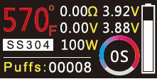 Инструкция для бокс-мода Sigelei Fuchai 213 Plus.Управление режимом температурного контроля