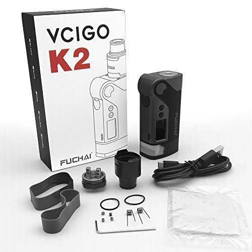 Инструкция для бокс-мода Sigelei Fuchai Vcigo K2