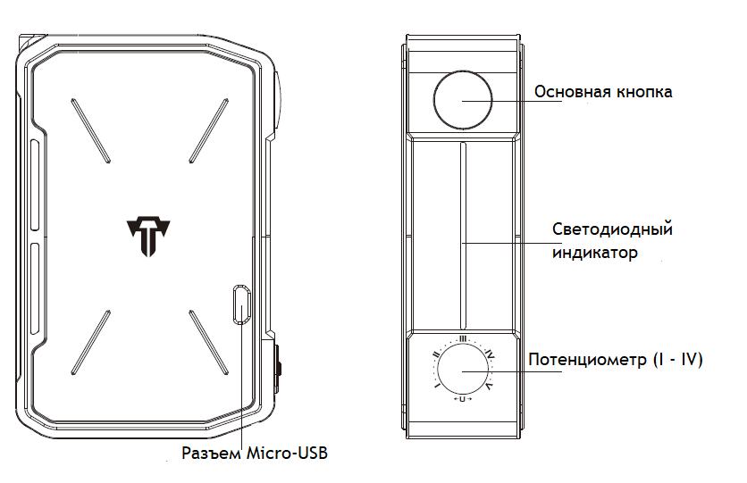 Инструкция для бокс-мода Tesla Invader IV 280W.О продукте