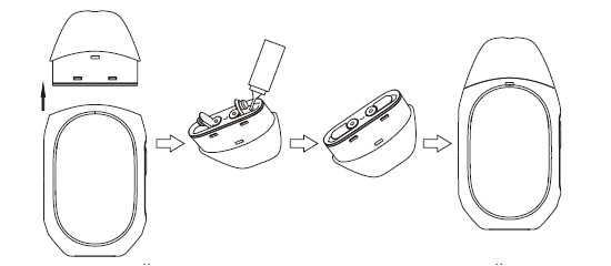 Инструкция для pod-системы Tesla TPod.Заправка жидкостью