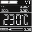 Инструкция для бокс-мода Vaporesso Revenger X.РежимыVT-SS / VT-NI / VT-TI / TCR (M1, М2)