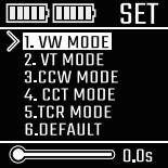 Инструкция для бокс-мода Vaporesso Revenger.Установка TCR режима (M1, M2)