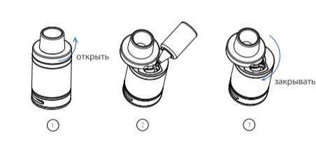 Инструкция для бокс-мода Vaporesso Swag.Заполнение жидкостью для электронных сигарет