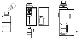 Инструкция для бокс-мода Wismec LUXOTIC BF BOX.Включение/выключение