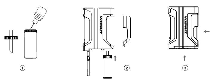 Инструкция для бокс-мода Wismec Luxotic DF Box.Заполнение жидкости для электронных сигарет