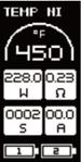 Инструкция для бокс-мода Wismec Predator 228.Количество затяжек («Puff») и время использования («Time»)