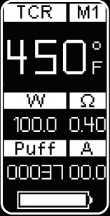 Инструкция для бокс-мода Wismec Presa TC100W.TCR (M1, M2, M3)