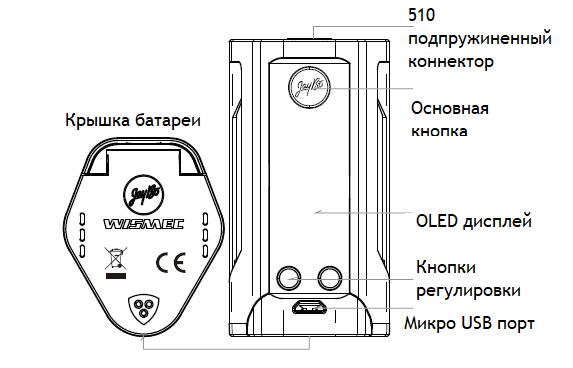 Инструкция для бокс-мода Wismec Reuleaux RX GEN3