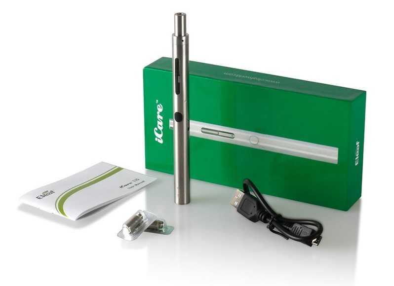 Инструкция для электронной сигареты Eleaf iCare 110