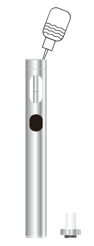 Инструкция для электронной сигареты Eleaf iCare 160.Заправка бака жидкостью:
