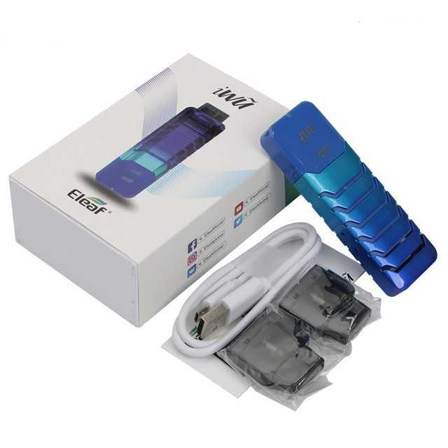 Инструкция для электронной сигареты Eleaf iWũ