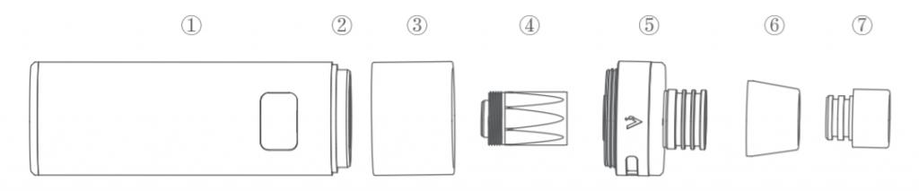 Инструкция для электронной сигареты Joyetech CuAIO