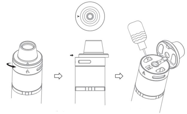 Инструкция для электронной сигареты Joyetech CuAIO.Сборка