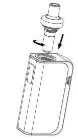 Инструкция для электронной сигареты Joyetech eGo AIO Box.Замена испарителя