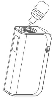 Инструкция для электронной сигареты Joyetech eGo AIO Box.Заправка жидкостью