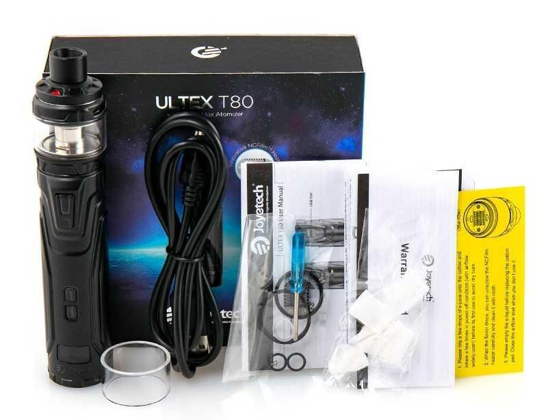 Инструкция для электронной сигареты Joyetech Ultex T80