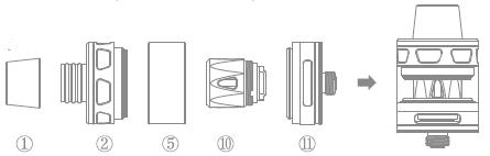 Инструкция для атомайзера Joyetech ProCore Remix.Использование в качестве сабомного атомайзера(2.0 мл)