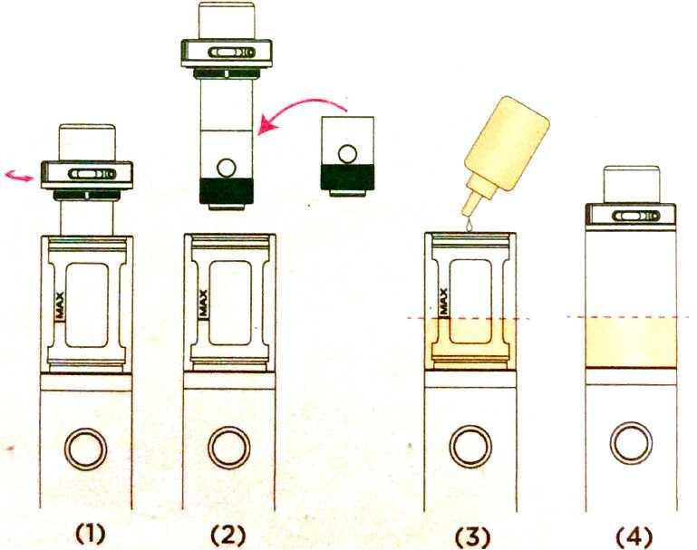 Инструкция для электронной сигареты Kanger Evod Pro V2.Замена испарителя CLOCC