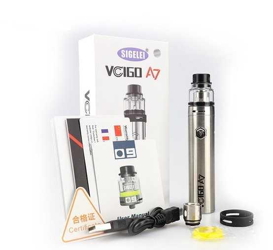 Инструкция для электронной сигареты Sigelei Vcigo А7