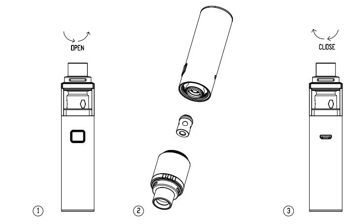 Инструкция для электронной сигареты Vaporesso Veco Solo и Veco Solo Plus