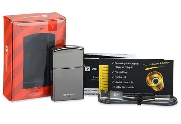 Инструкция для электронной сигареты Vaporesso Aurora