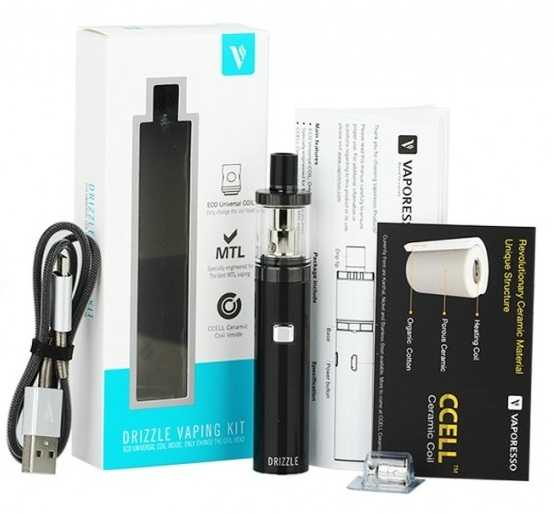 Инструкция для электронной сигареты Vaporesso Drizzle Vaping Kit