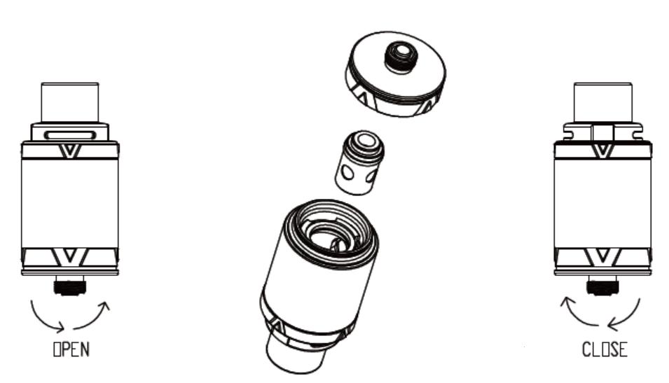 Инструкция для бокс-мода Vaporesso Tarot Mini.Замена атомайзера