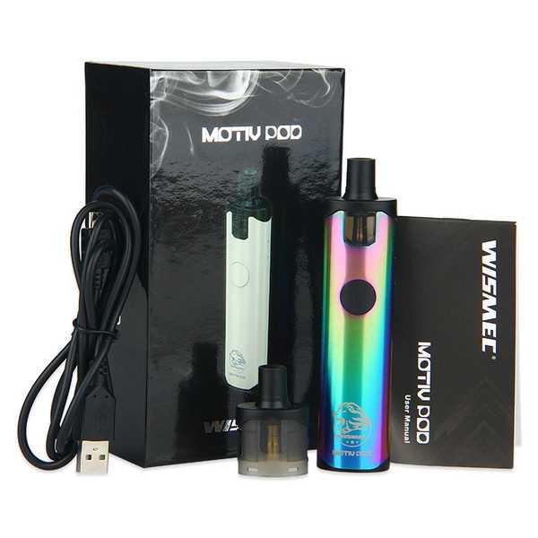 Инструкция для электронной сигареты Wismec Motiv POD