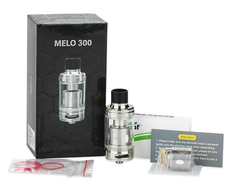 Инструкция для клиромайзера Eleaf MELO 300