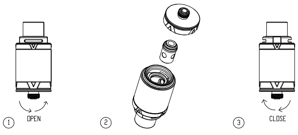 Инструкция для клиромайзера Vaporesso VECO Devil.Замена испарителя