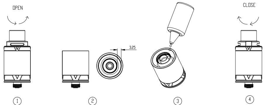 Инструкция для клиромайзера Vaporesso VECO Devil.Заполнение жидкостью для электронных сигарет