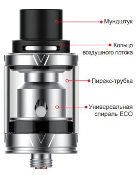 Инструкция для клиромайзера Vaporesso VECO ONE и VECO Tank