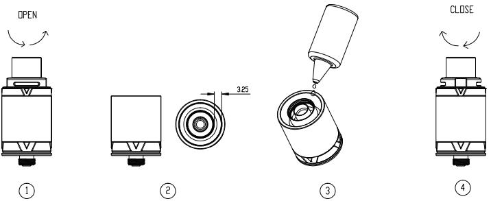 Инструкция для клиромайзера Vaporesso VECO ONE и VECO Tank.Заполнение жидкостью для электронных сигарет