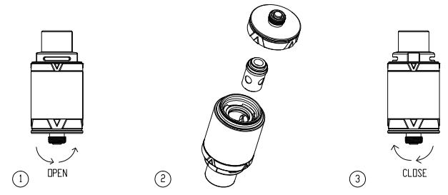Инструкция для клиромайзера Vaporesso VECO ONE и VECO Tank.Замена атомайзера