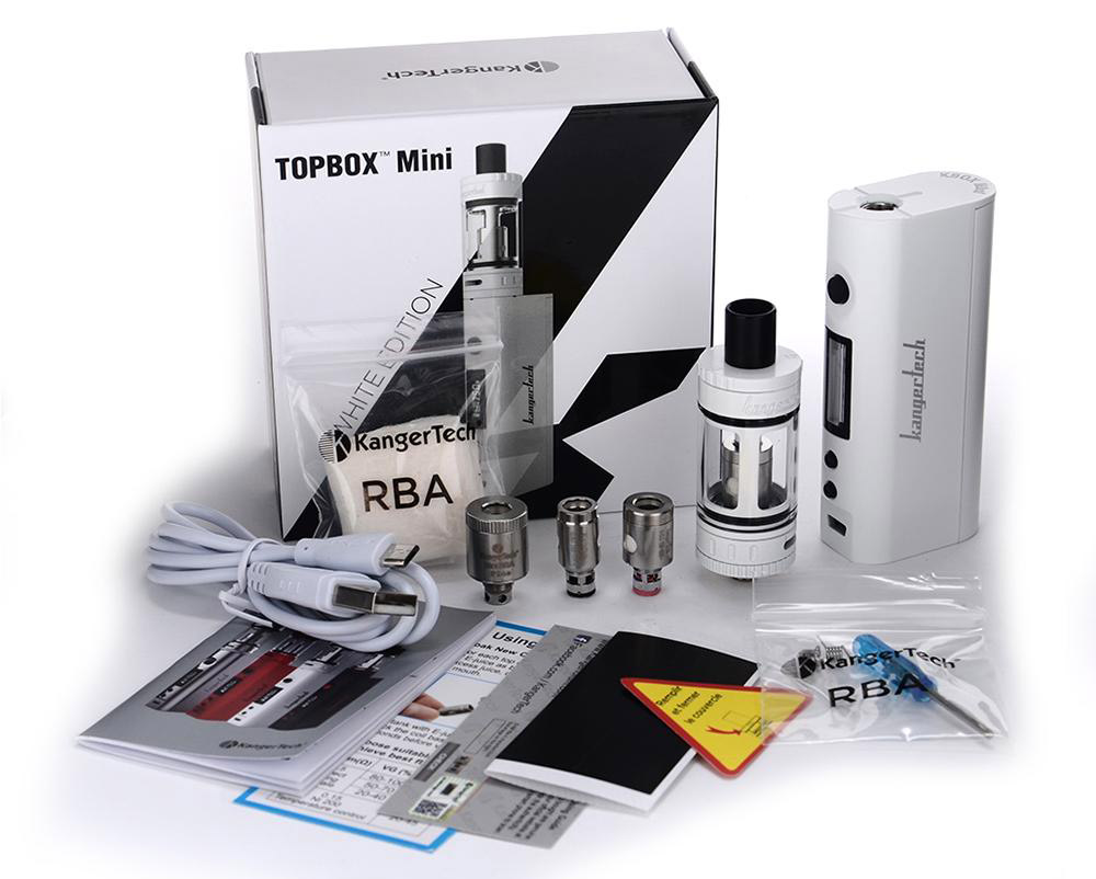Инструкция для бокс-мода Kanger TopBox Mini 75W Starter Kit