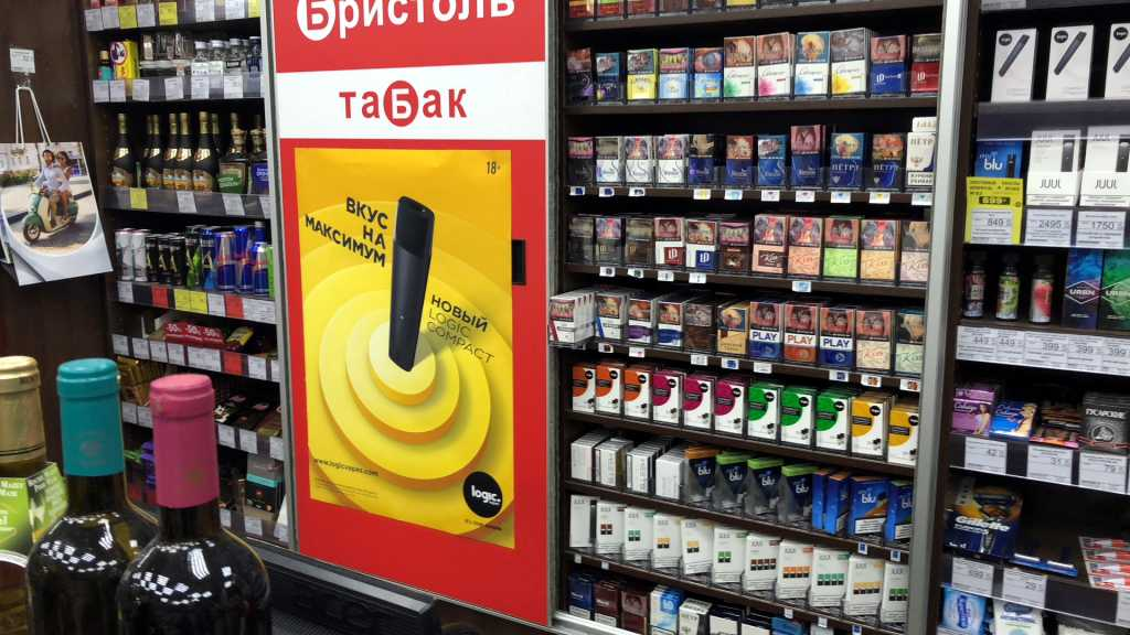 JTI выпустили новую pod-систему Logic Compact.LogicVapes о российском рынке вейпинга