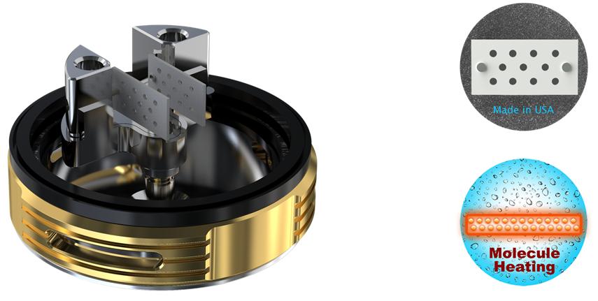 Клиромайзер без спиралей — технология RFC heater