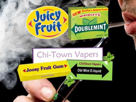 Компания Wrigley подали в суд на производителя жидкости.Что ожидает Chi-Town
