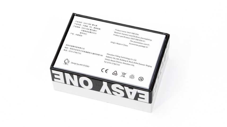 Обзор AFK Studio Eugene Easy One EDA.Упаковка и комплектация